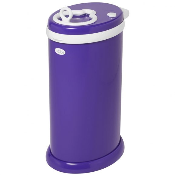 Purple Ubbi Diaper Pail