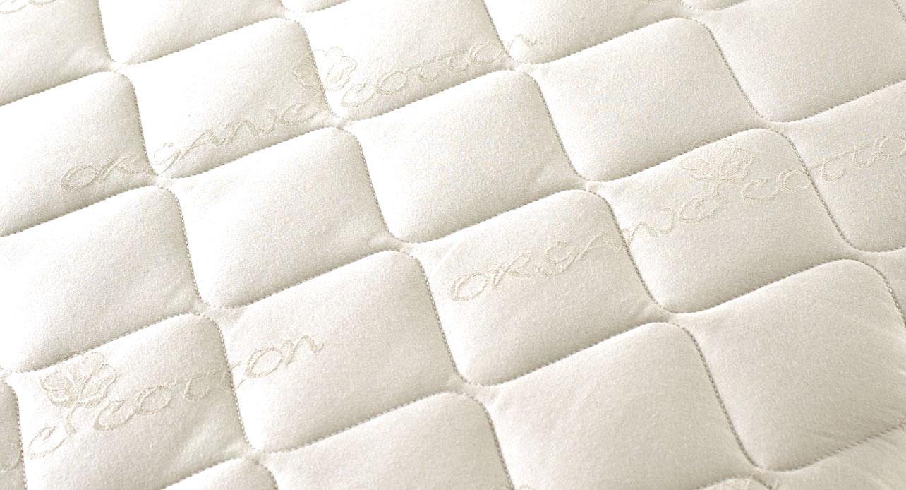 Breathable Crib Mattress >> Organic Portable Crib Mattress Protector | Pure LivingPure Living