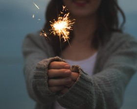 woman-fireworks-pure-living