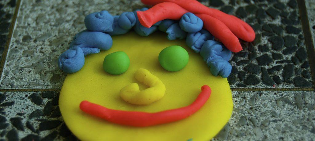 play dough color