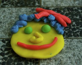 play dough color