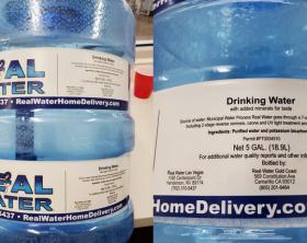 Alkaline Water 5 gallon bottle