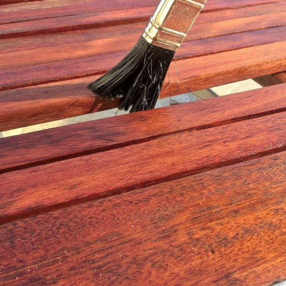Non-polluting stains, wood finishes, sealers and more